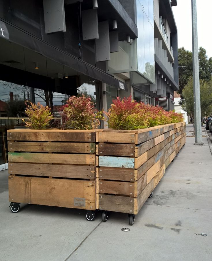 10 Best Cafe Barrier Planter Box Ideas Images On Pinterest