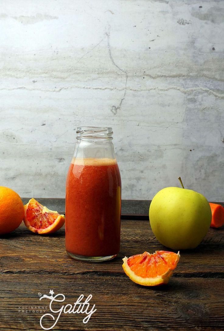 Kulinarne przygody Gatity - przepisy pełne smaku: Pomarańczowy koktajl
