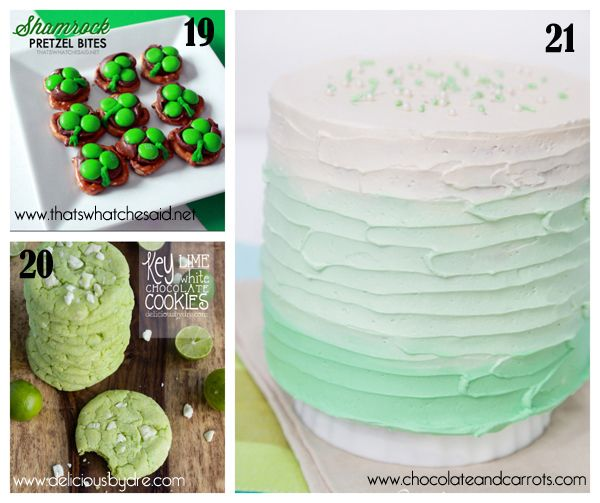 25+ GREEN treats for St.Paddy's Day - Cakewhiz