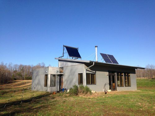 Pin By Greenmodernkits On Prefab House Off Grid Passive