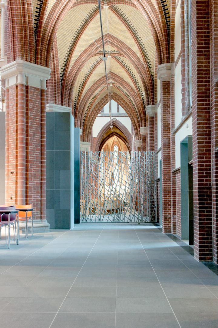 Transformation, renovation and revitalisation of the St. Martinus church in Voorburg (NL) – R4a Room for architecture