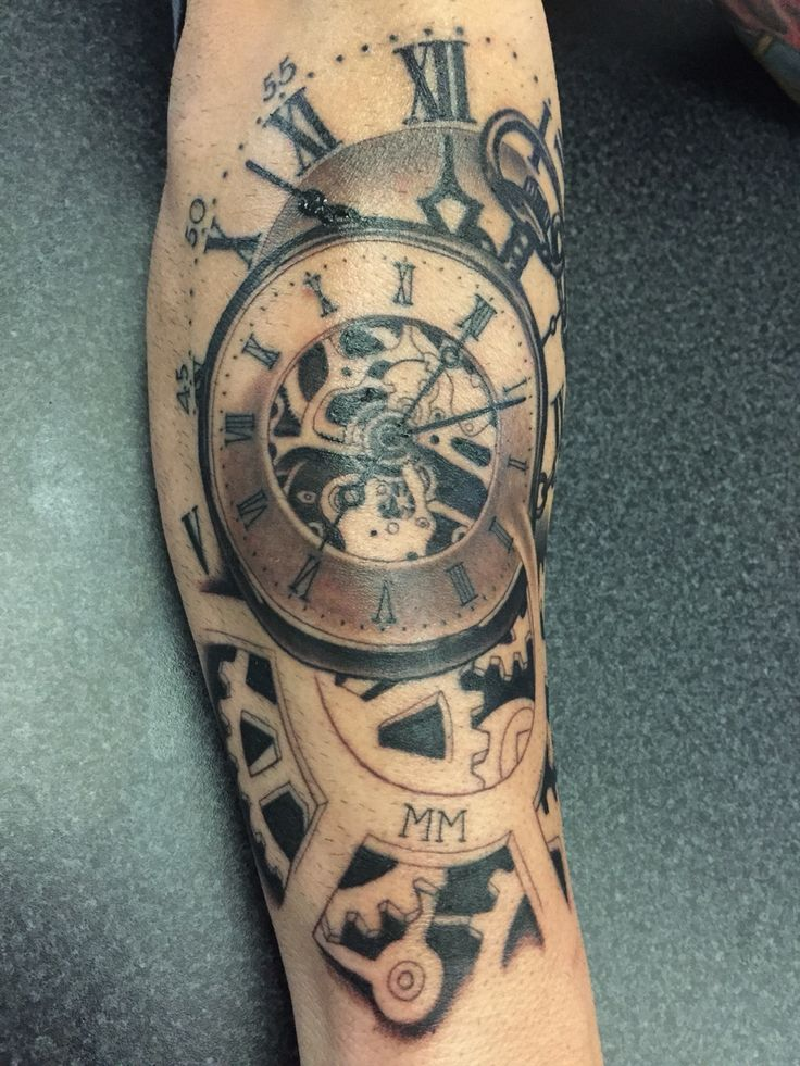 Timepiece Tattoos Designs