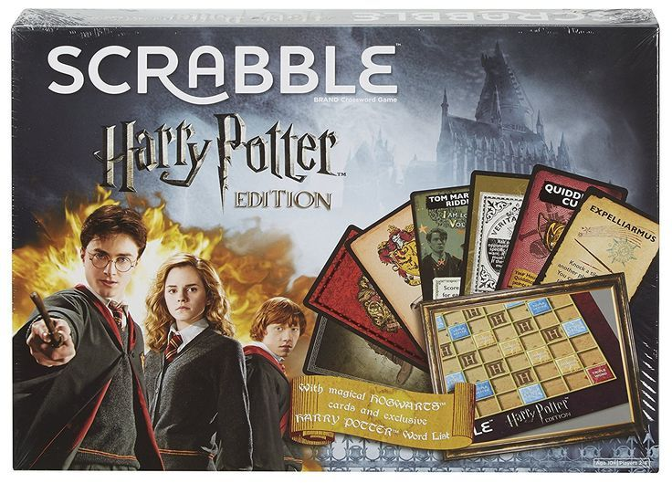 Scrabble DPR77 Harry Potter Edition Game: Amazon.co.uk: Toys & Games #affiliate