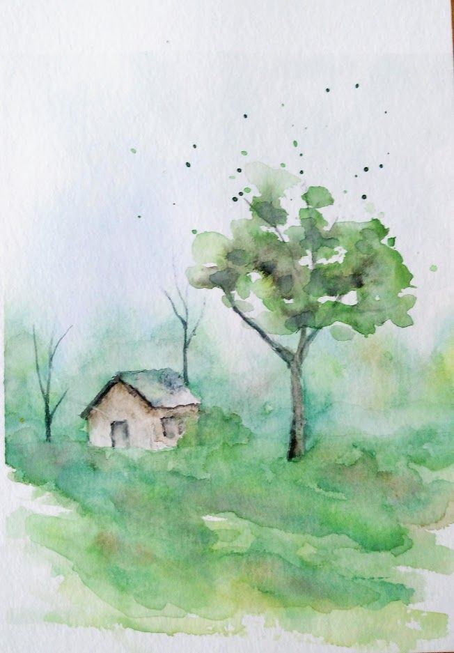Epingle Sur Aquarelle