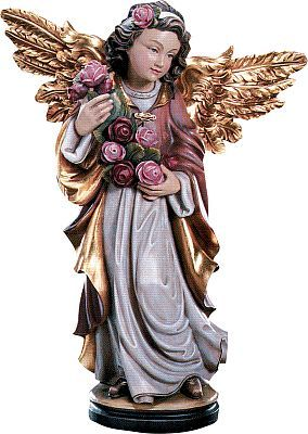 Angels - Angel with rose, 015 cm