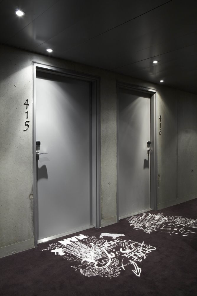 Mama shelter lyon hotel designed by philippe starck for Design boutique hotel lyon