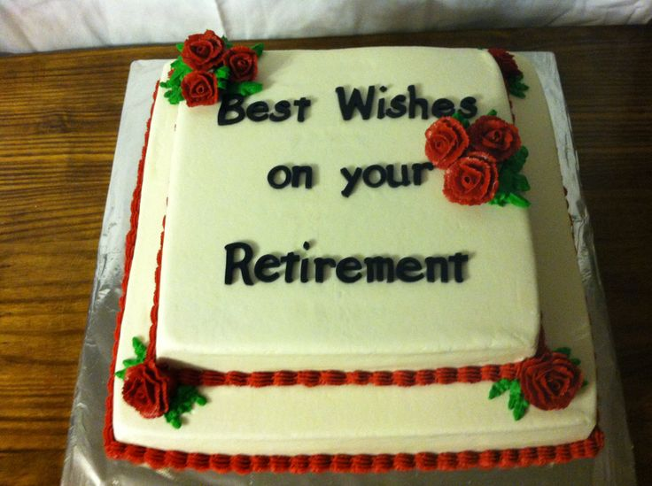 50 Best Retirement And Going Away Cakes Images On
