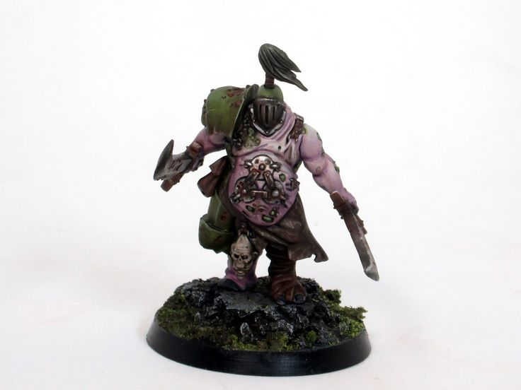 How to paint putrid blightking