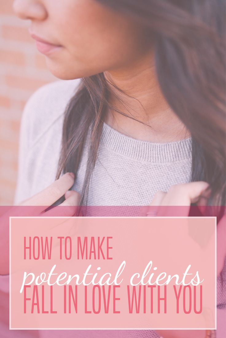 7 Tips on How to Make Potential #Clients Fall in Love with You! // Miranda Nahmias Design