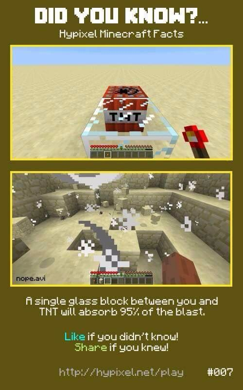 Minecraft did you know #007