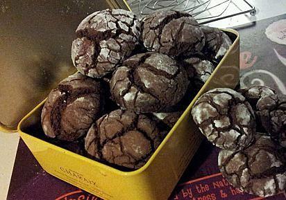 Σοκολατένια τραγανά μπισκότα