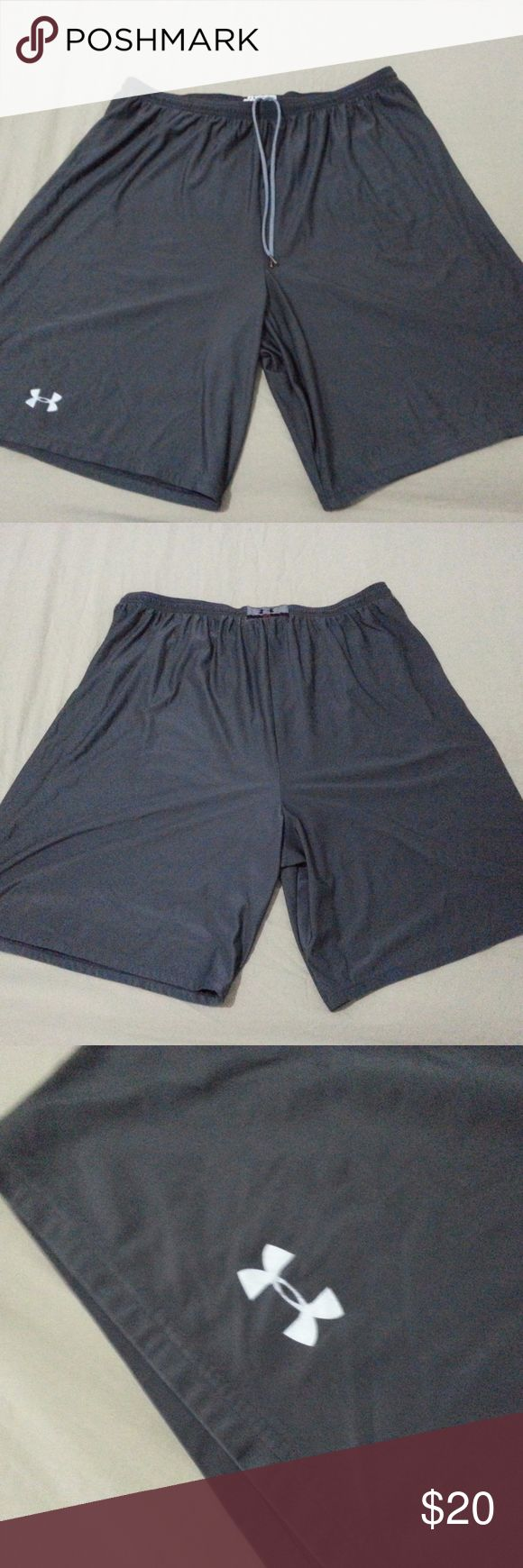 Mens Under Armour Shorts 3XL XXL Gray Athletic Mens Under Armour Shorts 3XL XXL Gray Athletic  Hi! Welcome to my store! Up for sale is a pair of Under Armour Shorts. The size is 3XL. If the item does not meet your expectations you can return for a full refund. Please message me if you have any questions. Thanks for looking! Under Armour Shorts Athletic
