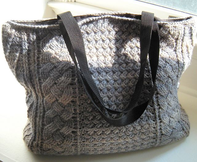 86 Best Knitted Bags Images On Pinterest Crochet Handbags Knitted