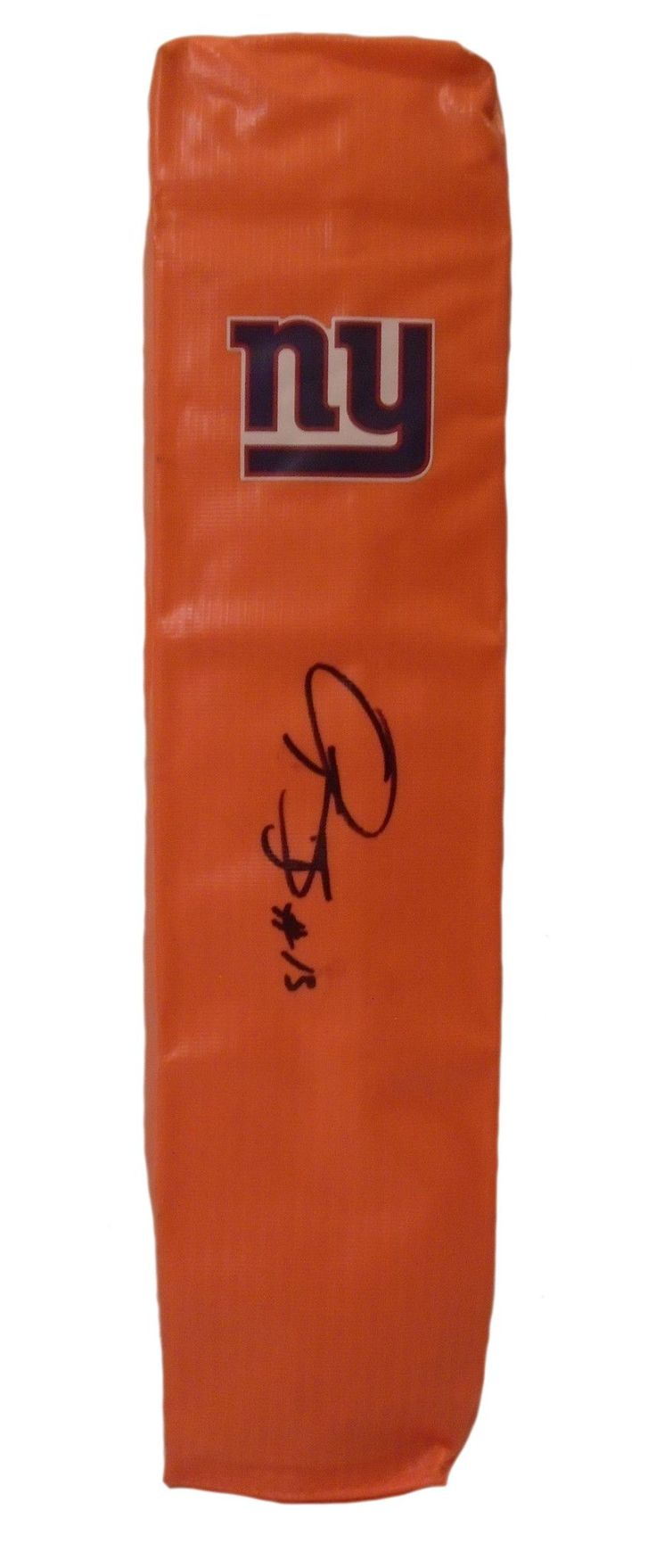 Odell Beckham Jr. signed NY Giants full size football touchdown end zone pylon w/ proof photo.  Proof photo of Odell signing will be included with your purchase along with a COA issued from Southwestconnection-Memorabilia, guaranteeing the item to pass authentication services from PSA/DNA or JSA. Free USPS shipping. www.AutographedwithProof.com is your one stop for autographed collectibles from New York sports teams. Check back with us often, as we are always obtaining new items.