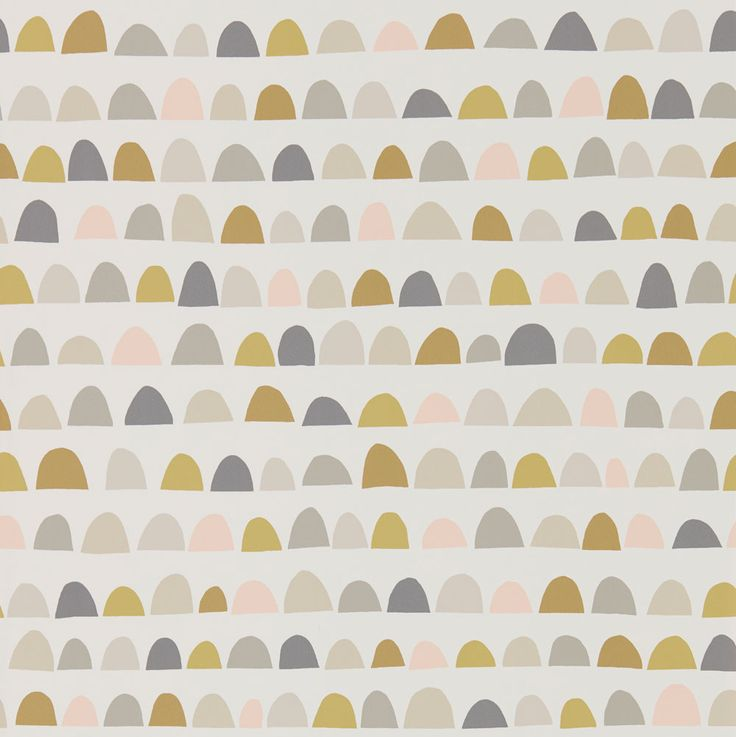 Scion Priya Blush, Honey and Linen Wallpaper main image