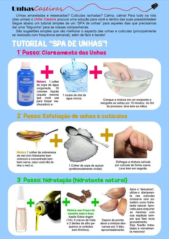 Algumas dicas e conselhos básicos para melhorar a saúde das suas unhas, que de…