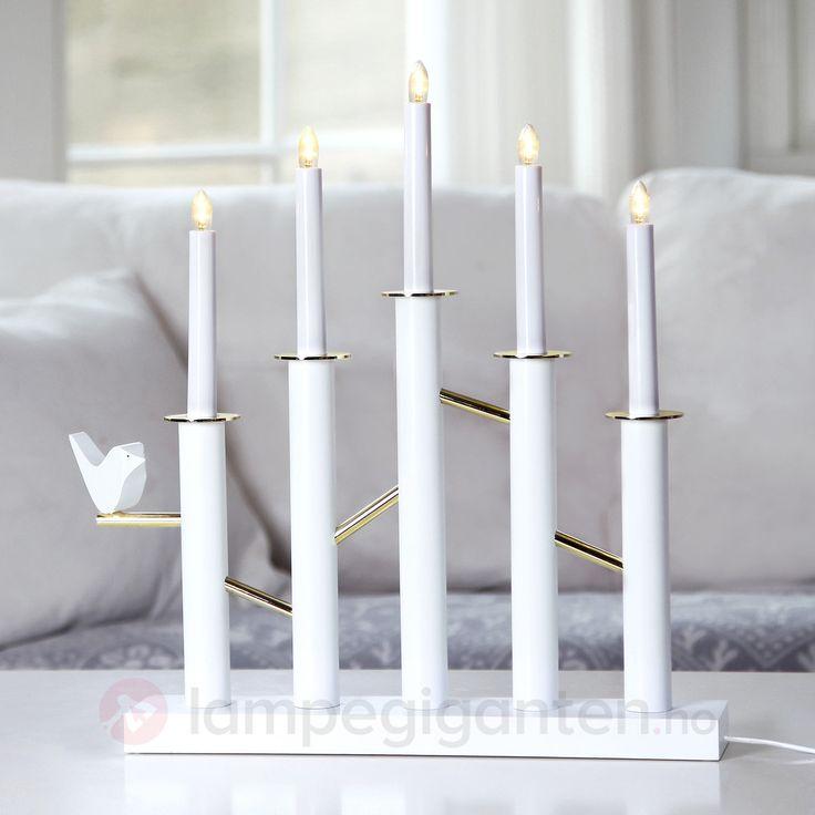 Birdy – elegant LED lysestake <3