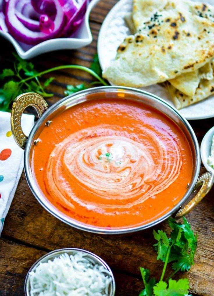 Just 6 Staple Pantry Ingredients to make Authentic and Easy Indian Tikka Masala Sauce | chefdehome.com