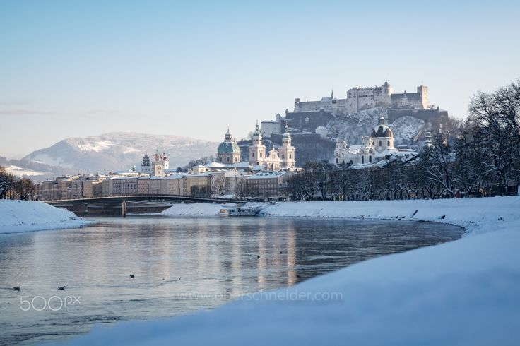 "Winter in Salzburg, Austria - The beautiful town Salzburg in Austria, covered in snow. Image available for licensing.  Order prints of my images online, shipping worldwide via  <a href=""http://www.pixopolitan.net/photographers/oberschneider-christoph-a6030.html"">Pixopolitan</a> See more of my work here:  <a href=""http://www.oberschneider.com"">www.oberschneider.com</a>  Facebook: <a href=""http://www.facebook.com/Christoph.Oberschneider.Photography"">Christoph Oberschneider Photography</a…"