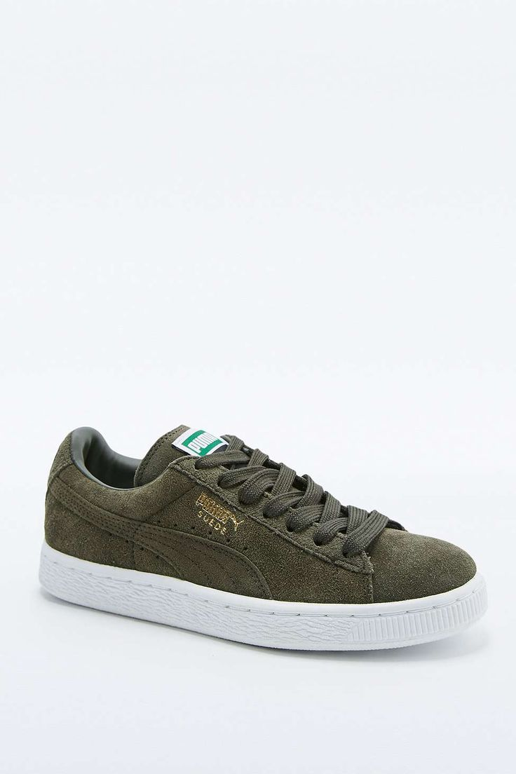 Shop Puma Classic+ Khaki Suede Trainers at Urban Outfitters today. We carry  all the latest styles, colours and brands for you to choose from right here.