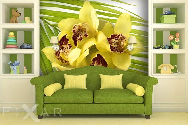 Fototapeten Getupfte Blume