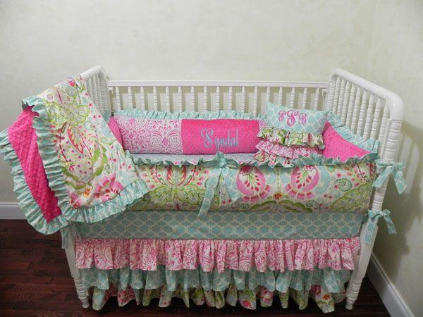 246 best Baby Girl Crib Bedding Sets images on Pinterest ...
