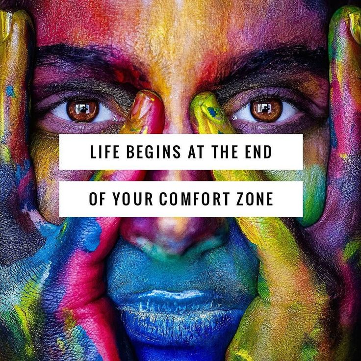 LIfe begins when you step from beyond your comfort zone... That familiar place... Nothing will grow there and change can't take place in the comfort of what you know.