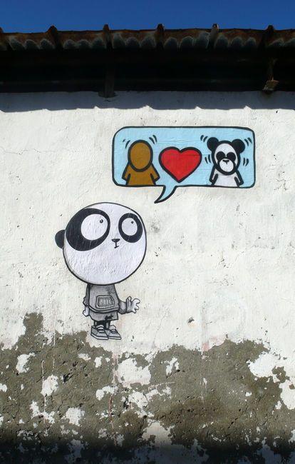 134. Pandakroo + Personnages Par Jace, Tez - Paris (France)