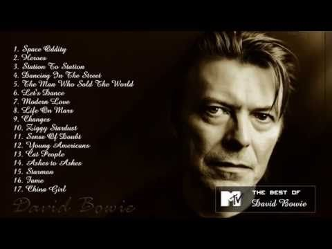 Best David Bowie Songs - David Bowie's Greatest Hits - YouTube