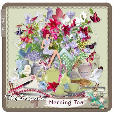 Morning Tea (PU S4H) by Yours&Mine