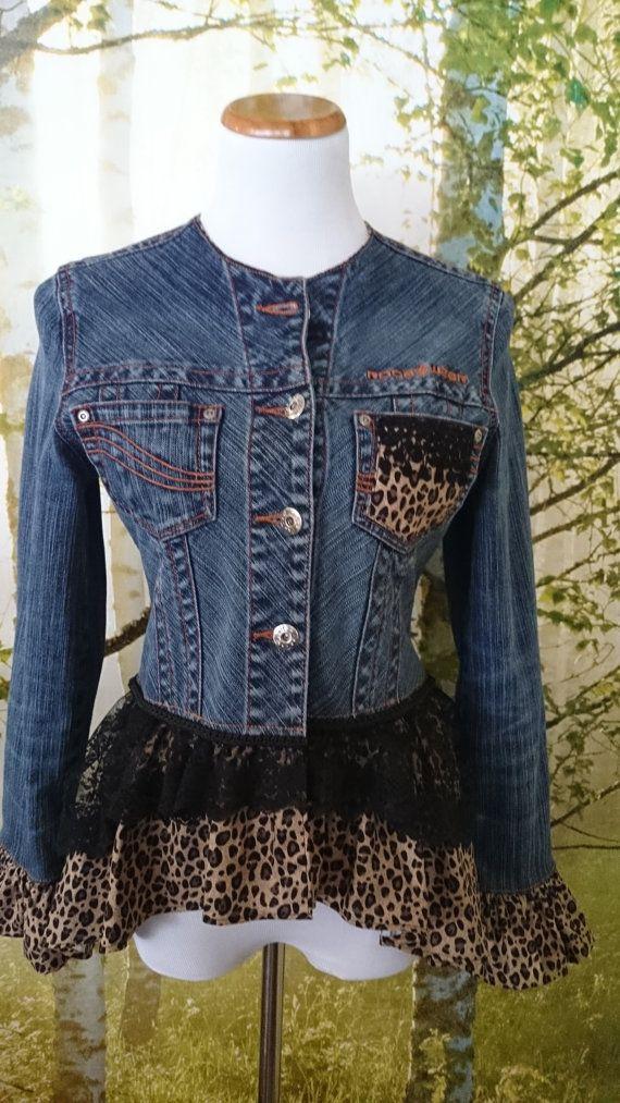 Refashioned Rocawear Jean Jacket