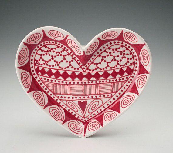valentine's day latte art