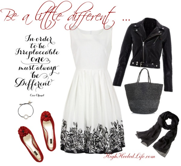 """""""Be a Little Different"""" by fallingoffahighheeledlife on Polyvore"""