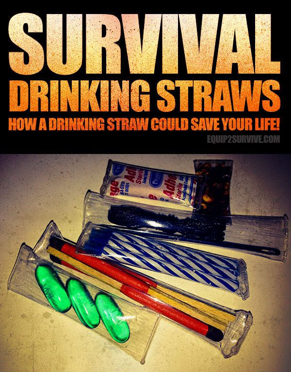 DIY Survival Drinking Straw Containers on STEROIDS!! Learn how to make them yourself quickly and easily and you'll be storing all kinds of small objects and substances in these air/water tight little containers you can make with a lighter and a multitool!!