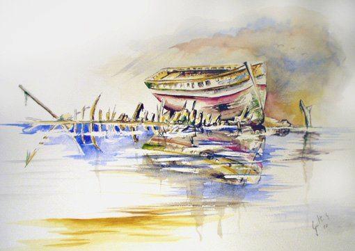 Carcasse de bateau - Finistère-Bretagne