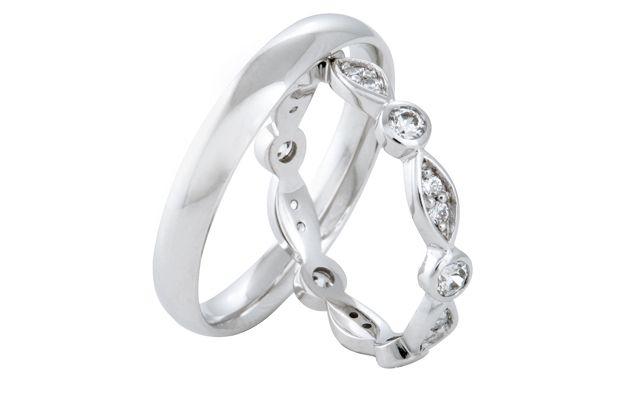 Snubní prsteny - model č. 330/04
