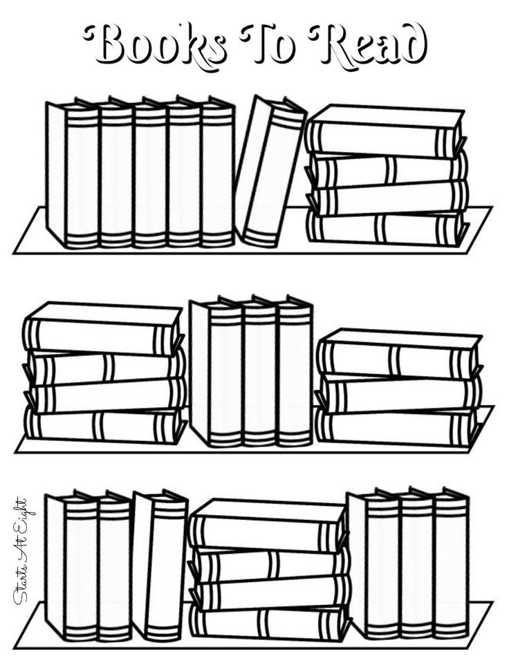 FREE Printable Books To Read Log from Starts At Eight. FREE Printable Reading Logs from Starts At Eight. Looking for a cute printable book log? These FREE Printable Book Logs can be printed as a full page for kids or adjusted for your bullet journal.