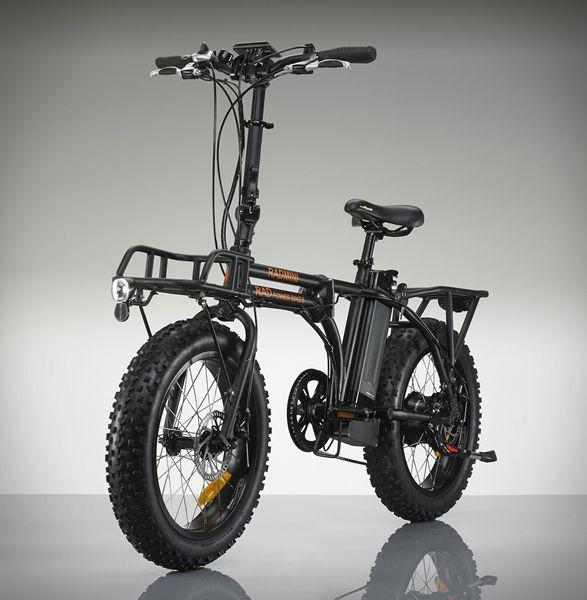 Radmini Electric Bike Power Bike And Cargo Rack