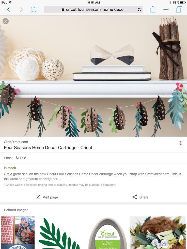 47 Best Cricut 4 Seasons Home Decor Images On Pinterest Home Decor 4 Seasons