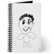 #Funny #Face #Journal #notepad #diary