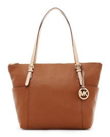 V0PNA MICHAEL Michael Kors Jet Set Zip-Top Tote