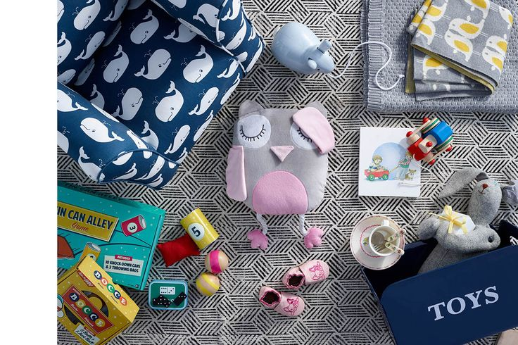 For the Little Darlings  For indoor and outdoor fun, your little humans will love vintage-inspired games. Give cuddly stuffed animals a home by placing them in a toy bin, or update their play space with a nautical print chair to spruce up their room in an instant.