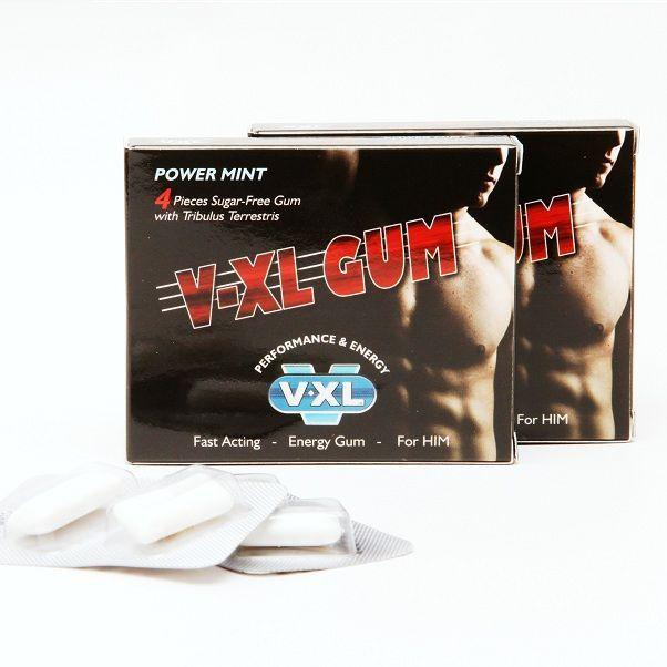 CHICLE AFRODISIACO V-XL GUM. Se presenta como novedad mundial para revolucionar el impulso de la líbido y mejorar tu vida sexual.   Totalmente discreto en un cómodo blíster de 4 unidades. Absorción oral instantánea sin esperas. Sin azúcar. Ingredientes 100% naturales sin efectos secundarios. Actúa con rapidez sin levantar ningún tipo de sospecha. https://discreetintimate.com/capsulas-potenciadoras/4442-v-xl-gum-chicle-afrodisiaco.html