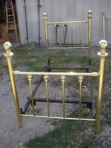 Pair Of Twin Brass Beds For Sale 150 Each Craigslist