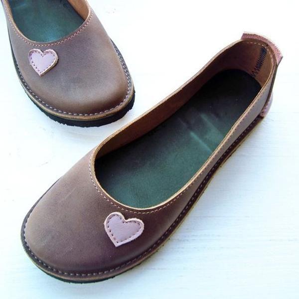 1d316adfe12ac Soft Heart Flat Heel Summer Loafers v roku 2019 | outfit