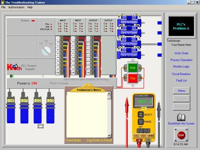 Basic Electrical Plc Troubleshooting Training Course In 2020 Electrical Troubleshooting Basic Electrical Wiring Plc Simulator