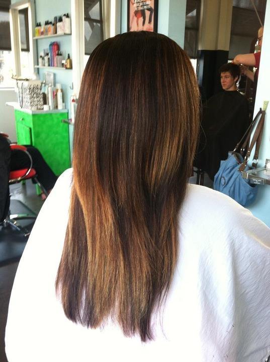Balayage, hair by: kathryn werk, 423/785-6801