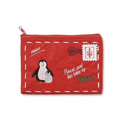 Filtpung med lynlås og jul   Kr. 20,- #tigerjul