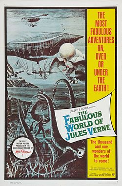 """American poster of Karel Zeman's film :A Deadly Invention"""""""