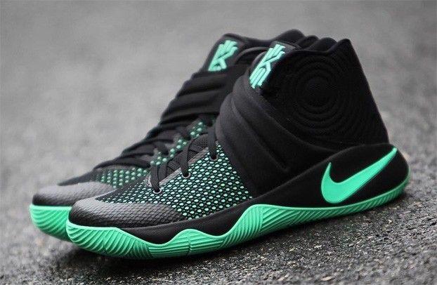 ... nike kyrie 2 green glow check my footwork ayeeee pinterest ...